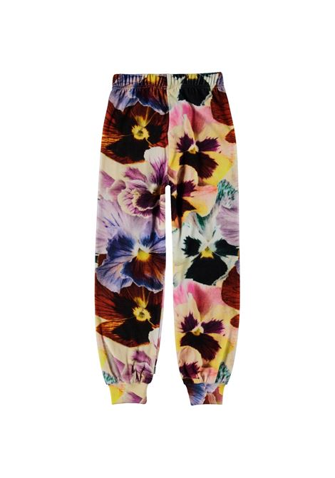LITTLE GIRL TROUSERS WITH PRINT MOLO KIDS | 2W21I2016382