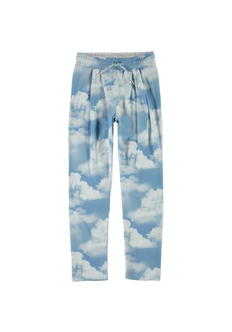 LITTLE GIRL TROUSERS WITH PRINT MOLO KIDS | 2W21I2056360