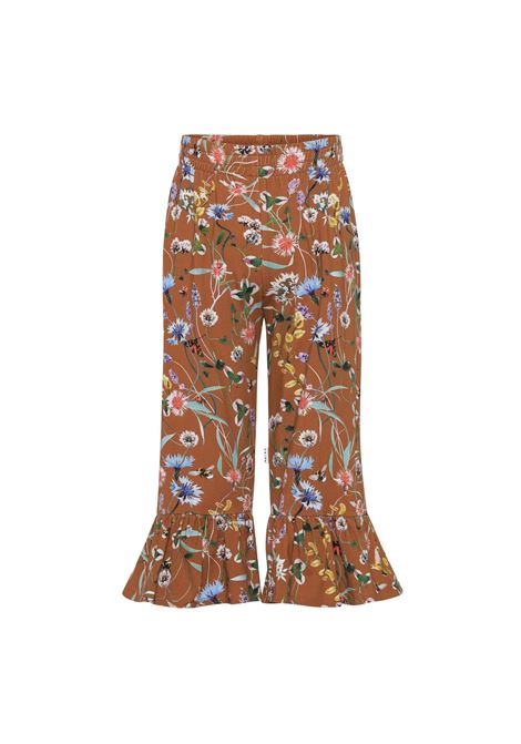 LITTLE GIRL TROUSERS WITH PRINT MOLO KIDS | 2W21I2116370