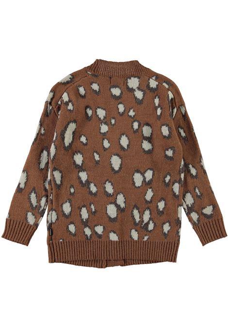 Leopard print cardigan MOLO KIDS | 2W21K3036393
