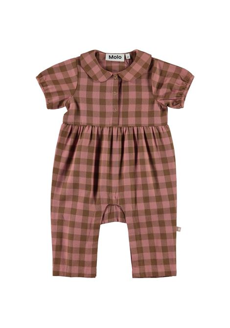 Half sleeve checked onesie MOLO KIDS | 4W21B3016384