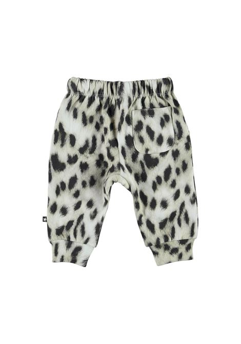Sport trousers with spotted print MOLO KIDS | 6W21I2046403