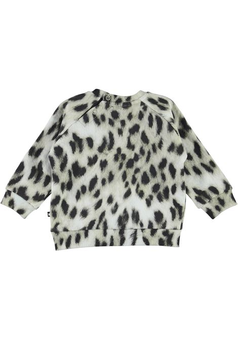 Sweatshirt with spotted print MOLO KIDS | 6W21J2056403