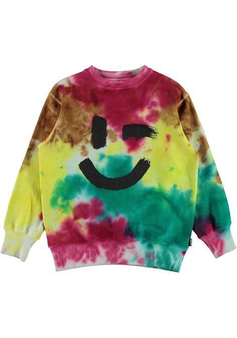 Tie dye colored sweatshirt MOLO KIDS | 6W21J2107380