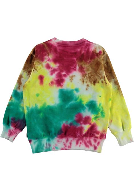 Tie dye colored sweatshirt MOLO KIDS | 6W21J210T7380