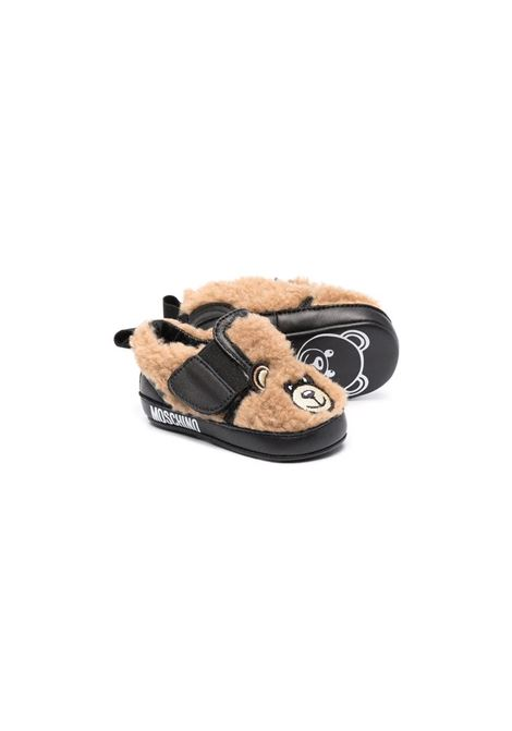 Teddy Bear first steps shoes MOSCHINO KIDS | 687151