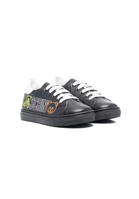 Sneakers con logo MOSCHINO KIDS | 687621