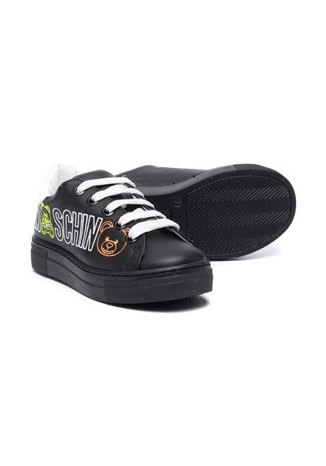 Sneakers con motivo Teddy Bear MOSCHINO KIDS | 688631