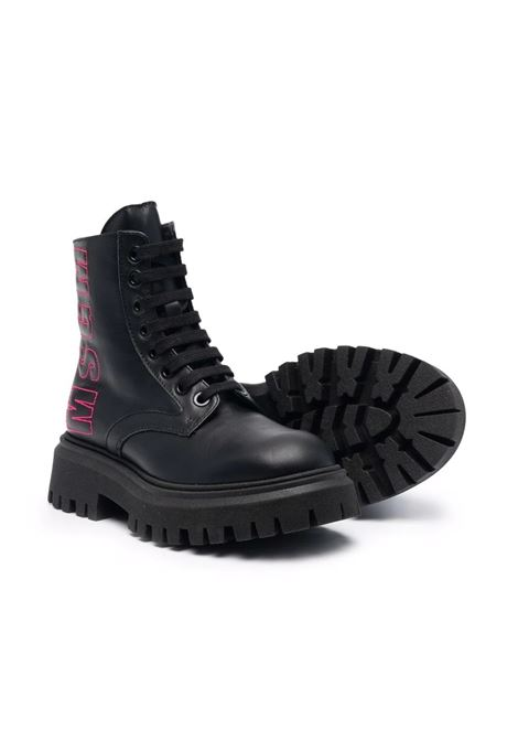 Boots with logo MSGM KIDS | 691651T1