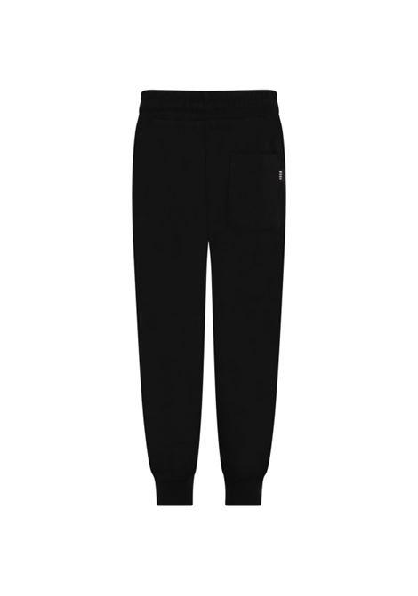 Pantaloni sportivi con stampa MSGM KIDS | MS027679110