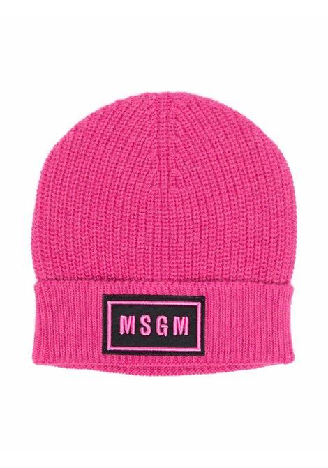 Cappello con logo MSGM KIDS | MS027743044