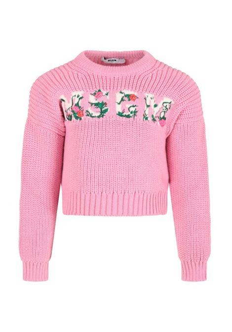 Floral sweater MSGM KIDS | MS027745T042