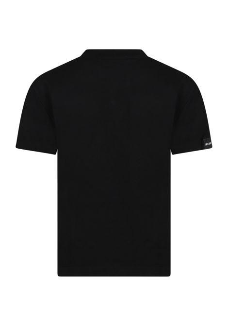 T-shirt con stampa MSGM KIDS | MS027768110