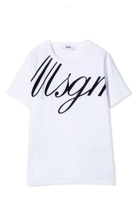T-shirt with print MSGM KIDS | MS027768T001