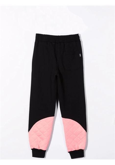 Pantaloni sportivi con logo MSGM KIDS | MS027777T110/63