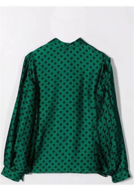Polka dot shirt MSGM KIDS | MS027806T080