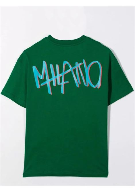 T-shirt con stampa MSGM KIDS | MS027864088