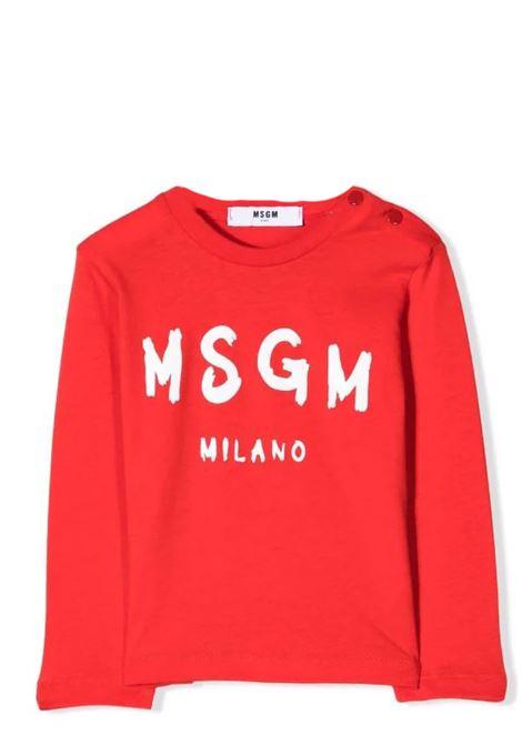 T-shirt with print MSGM KIDS | MS027873040