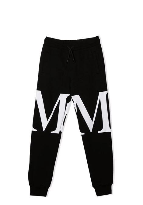 Pantaloni sportivi con stampa MSGM KIDS | MS027909110