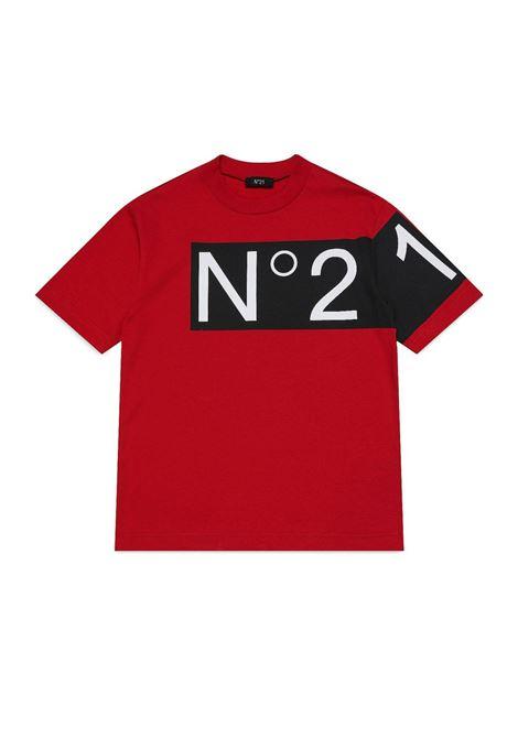 T-shirt with print N°21 KIDS | N21119 N01530N404