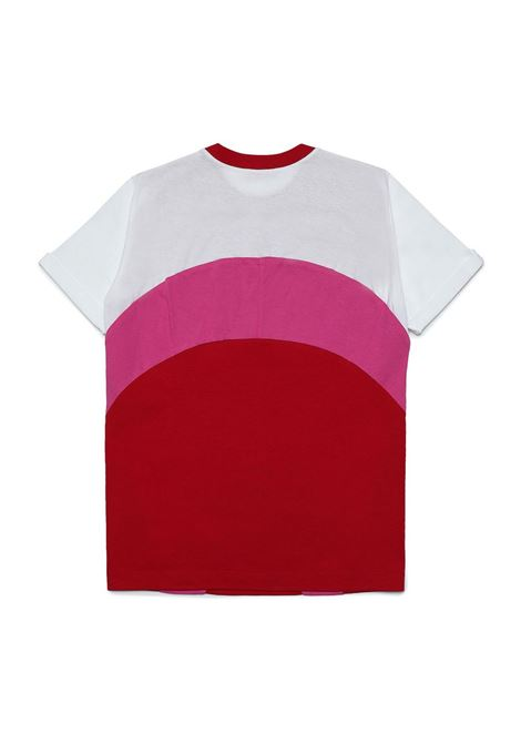 T-shirt with color-block design N°21 KIDS | N21122 N01530N404