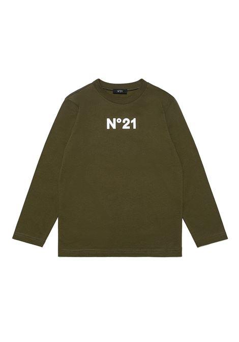 T-shirt with print N°21 KIDS | N21125 N01530N502