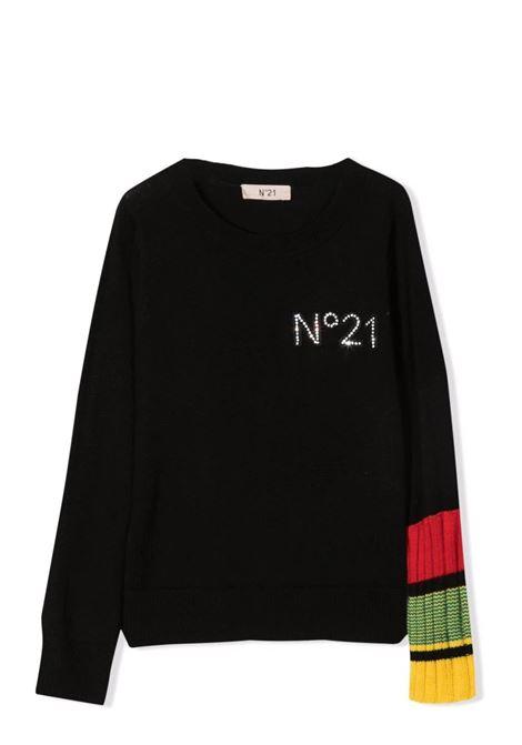 Logo sweater N°21 KIDS | N21160 N01190N900