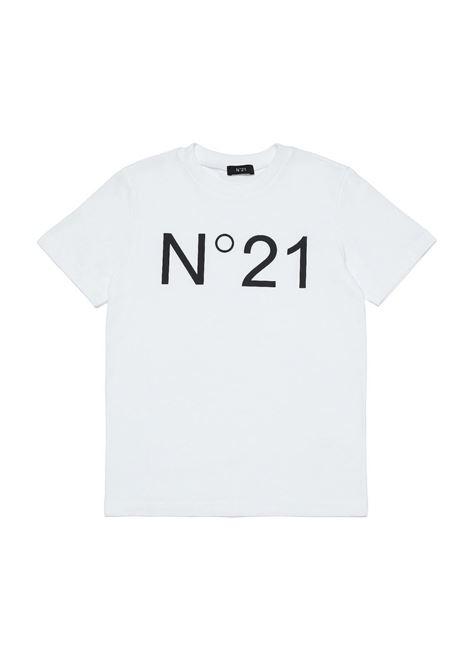 T-shirt con stampa N°21 KIDS | N21173 N0153T0N100