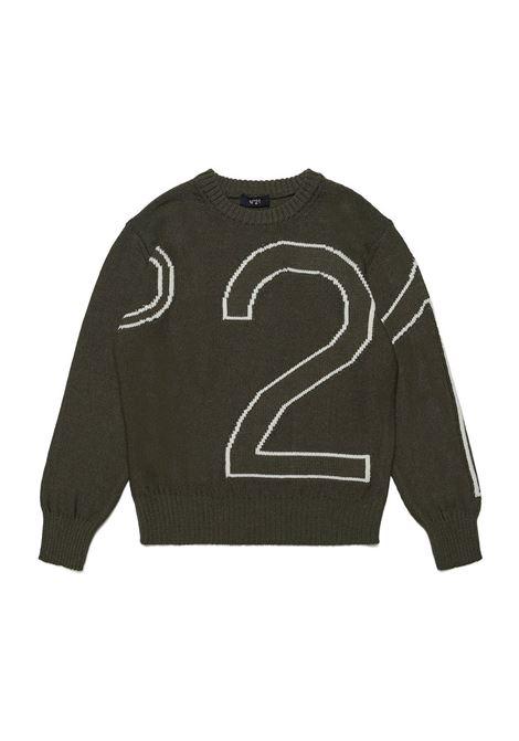 Pull with logo N°21 KIDS | N21196 N0121T0N502