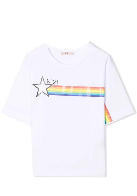 T-shirt with print N°21 KIDS | N21199 N0080T0N100