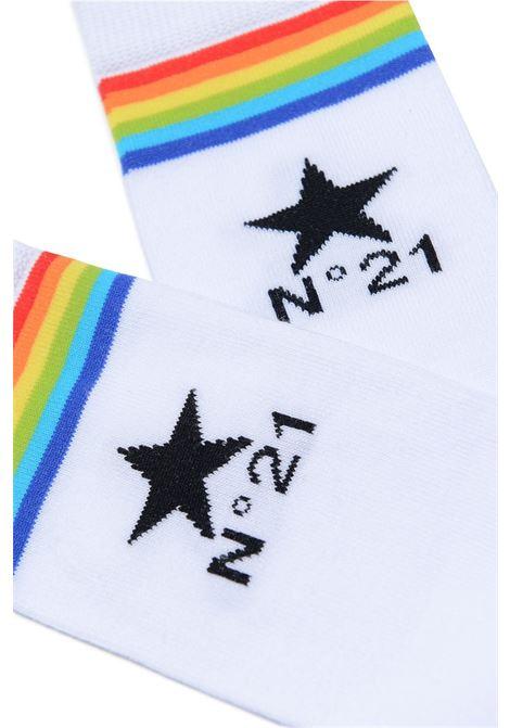 Socks with print N°21 KIDS | N21209 N01760N100
