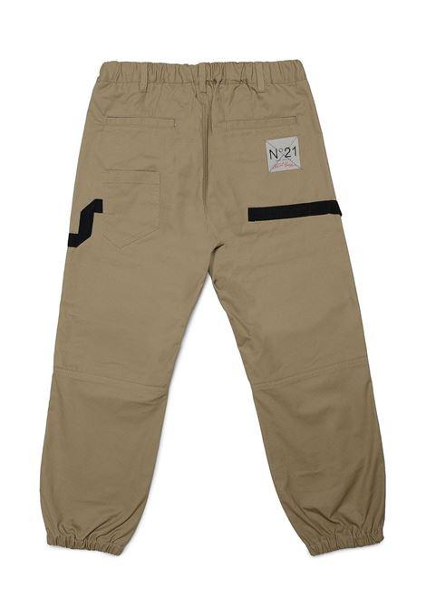 Drawstring trousers N°21 KIDS | N21221 N0159T0N710