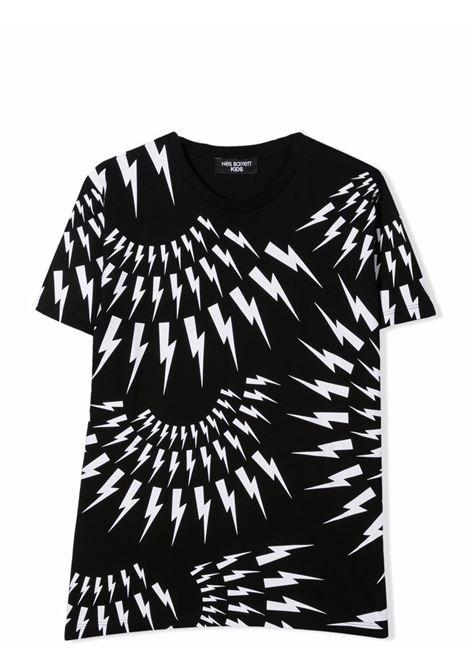 T-shirt with print NEIL BARRETT KIDS | 028928T110