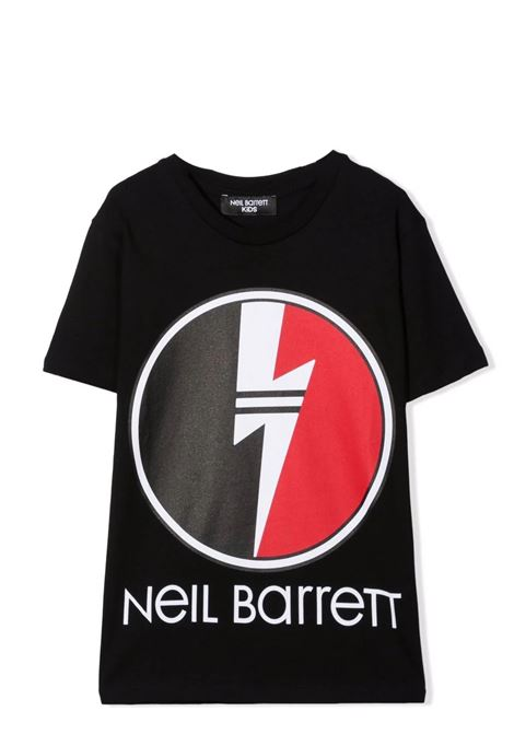 T-shirt with print NEIL BARRETT KIDS | 028931T110