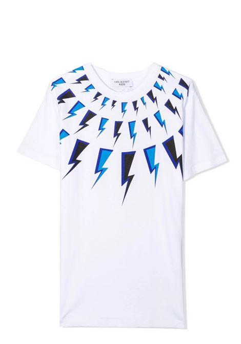 T-shirt with print NEIL BARRETT KIDS | 028933001