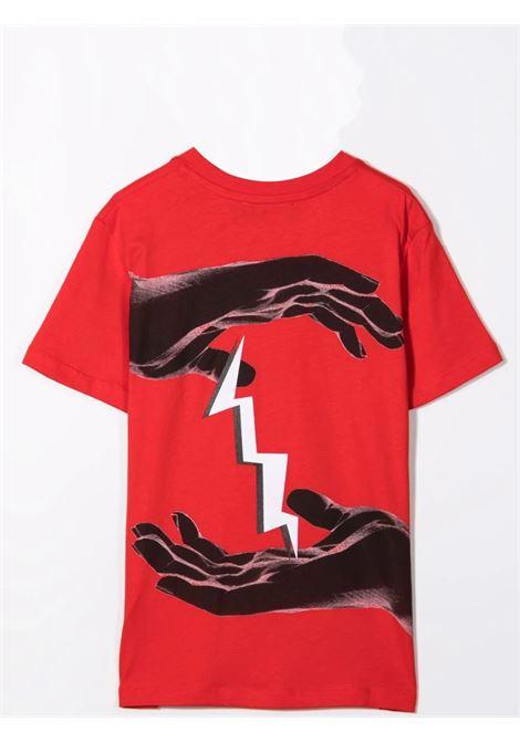T-shirt with print NEIL BARRETT KIDS | 028936040