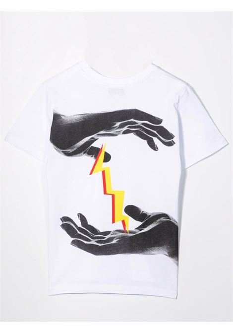 T-shirt with print NEIL BARRETT KIDS | 028936T001