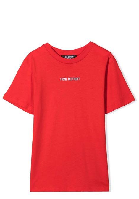 T-shirt with print NEIL BARRETT KIDS | 028936T040