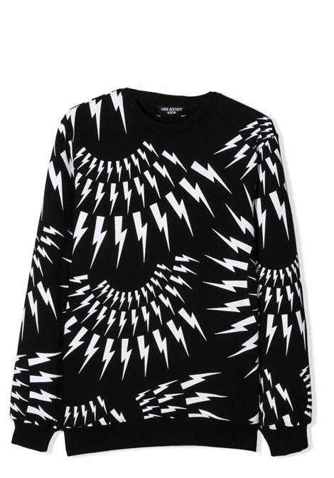 Sweatshirt with print NEIL BARRETT KIDS | 028948110