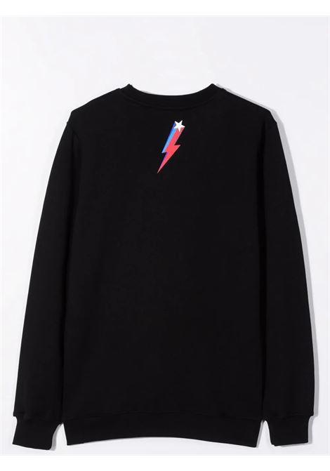 Sweatshirt with print NEIL BARRETT KIDS | 028960110