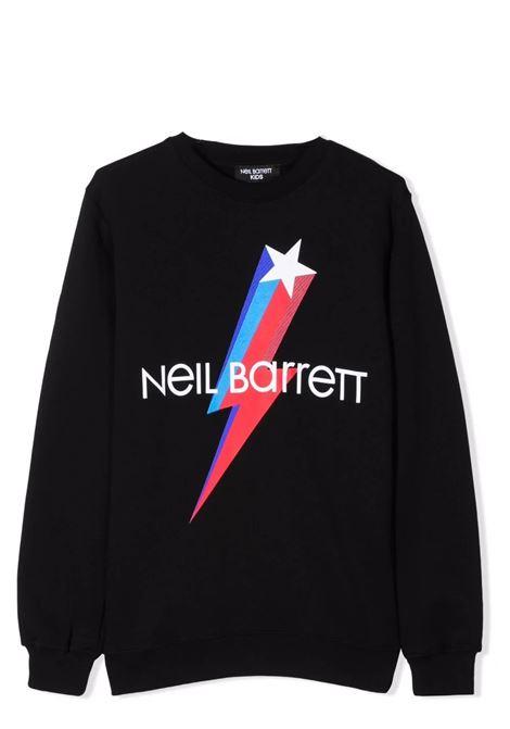 Sweatshirt with print NEIL BARRETT KIDS | 028960T110