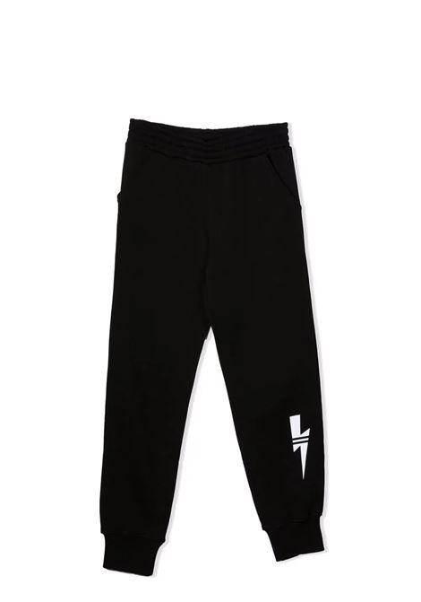 Sweatpants with Lightning Bolt print NEIL BARRETT KIDS | 028961110