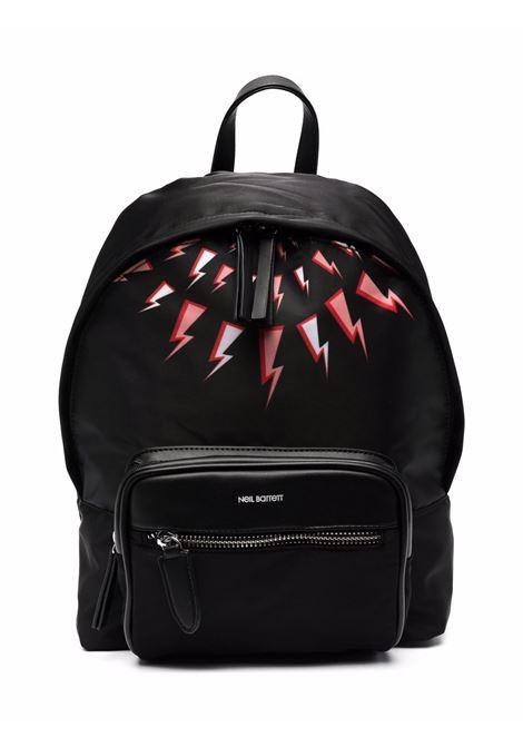 Backpack with print NEIL BARRETT KIDS | 029034110