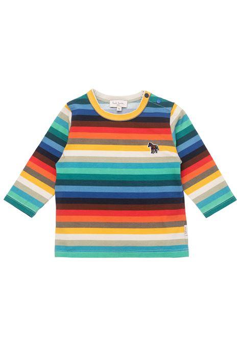 Striped T-shirt PAUL SMITH JUNIOR | P05063Z40