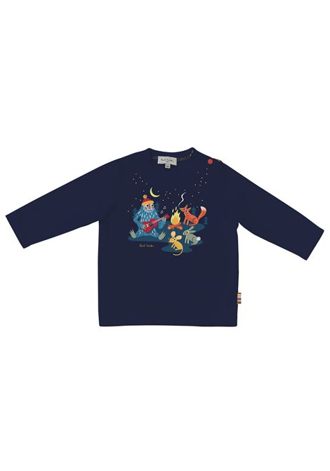 T-shirt with print PAUL SMITH JUNIOR | P0506683D