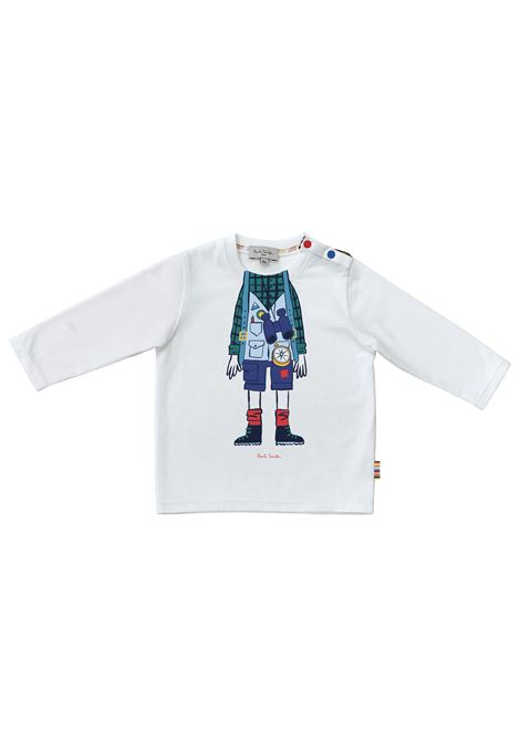 T-shirt with print PAUL SMITH JUNIOR | P0506810P