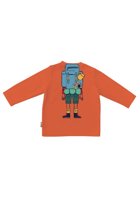T-shirt with print PAUL SMITH JUNIOR | P0506842L