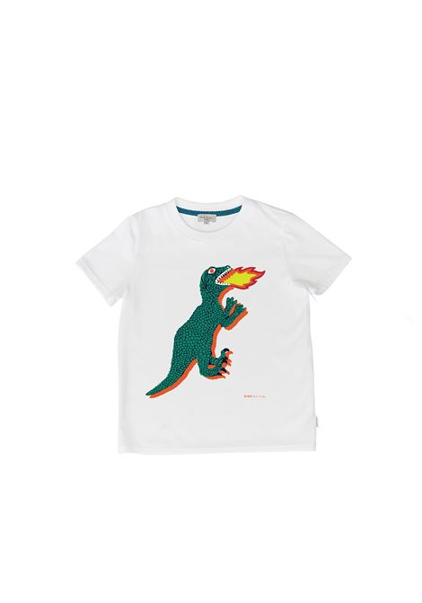 T-shirt con stampa PAUL SMITH JUNIOR | P25221T10P