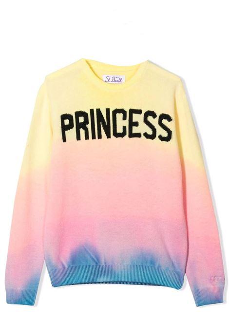 Maglione Princess con fantasia tie dye Saint barth kids | PRINCESSTPRTIDY