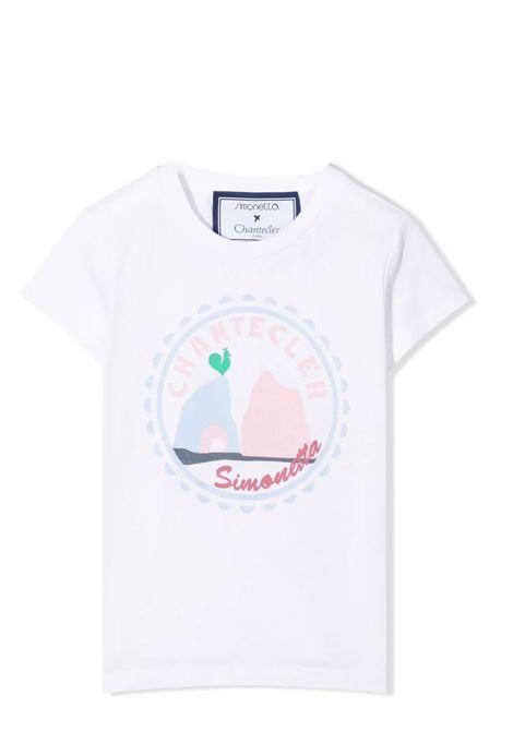 Little girl t-shirt with print SIMONETTA | T-shirt | 1P8061 Z0043100